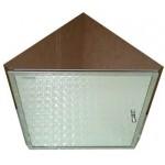 TORA Stainless Steel Corner Mirror Cabinet B2104 / TR-BA-MC-01364-PL
