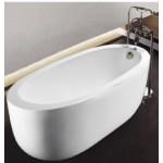 TORA Free Standing Long Bath FSB43 / TR-BHT-FSB-03189-WW