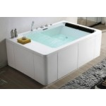 TORA Waterfall Massage Bathtub TR-BHT-MBT-04720-WW