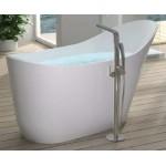 TORA Le Celebrity Series Polystone Free Standing Long Bath TR-BHT-FSB-06309-WW