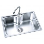 FAUREX Economic Series Kitchen Sink FR-SB0162-P / FR-KS-SB-07630-PL